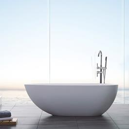 Bathlife Badekar Ideal Design -  Støbt Marmor 1500