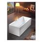 Bathlife Badekar Ideal Form Fritstående - Hvid 1600 mm