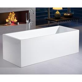 Bathlife Badekar Monte - Hvidt 1710 mm