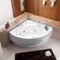 Bathlife Boblebadekar Class 1350 Hvidt - med varmelegeme