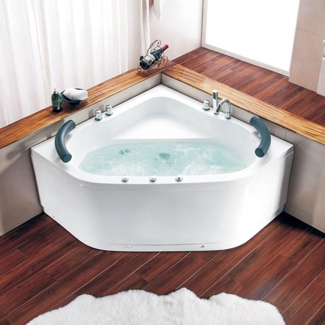 Bathlife Boblebadekar Vila 1300 Hvidt - med varmelegeme
