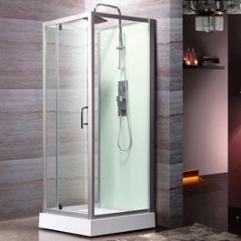 Bathlife Brusekabine LOGI - Aluminium