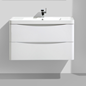 Vaskeskab Bathlife Utrymme 900 Hvid med vask