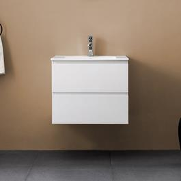 Vaskeskab Bathlife Eufori Hvid inkl.vask