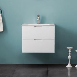 Vaskeskab Bathlife Glädje Hvid inkl.vask