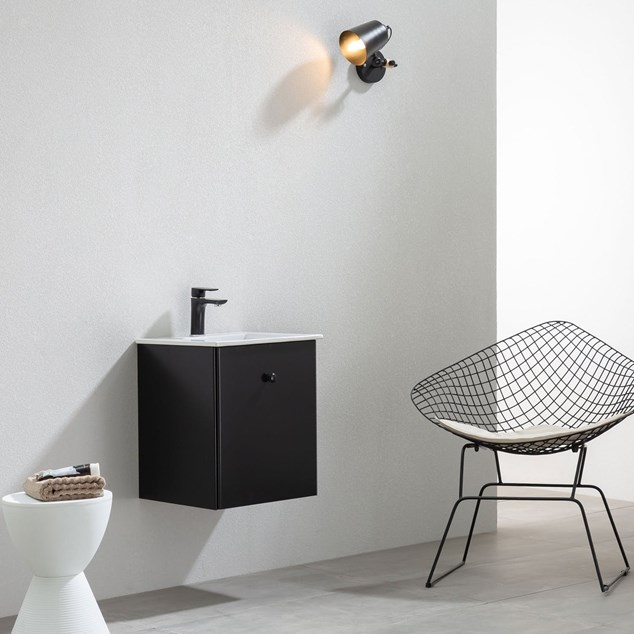 Vaskeskab Bathlife Fröjd - Mat Sort