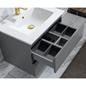 Vaskeskab Bathlife Eufori Grå inkl.vask
