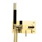 Brusearmatur Tapwell BOX011-364 til indbygning Honey Gold