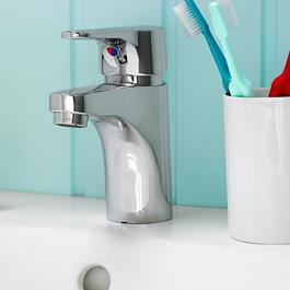 Gustavsberg Nautic Håndvaskarmatur med Bundventil med prop og si