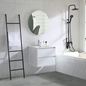 Bathlife Håndvaskskab Bahtlife Lättsam Hvid Eg