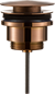 Bundventil Primy Steel Pop-up Universal Amber