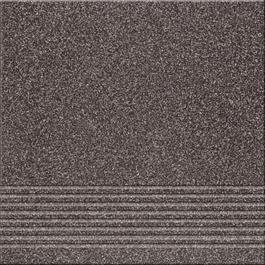 Arredo Klinker Gres Kallisto K11 Black 297x297 mm Trappeforkant