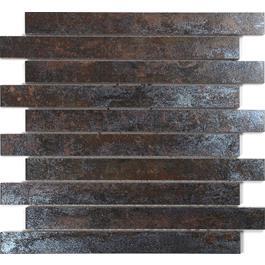 Arredo Klinker Iron Rust Mosaik 28x300 mm Brick
