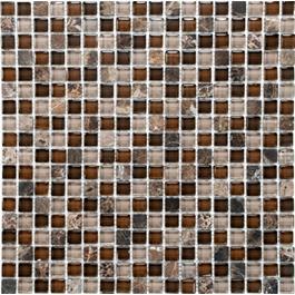 Arredo Krystalmosaik Blank 15x15x8 mm Exclusive Stone Safari