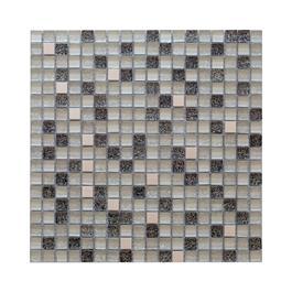Arredo Krystalmosaik Blank 15x15x8 mm Exclusive Stone silver