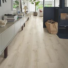 Vinylgulv Pergo Greige Mountain Oak, Classic plank Premium Click