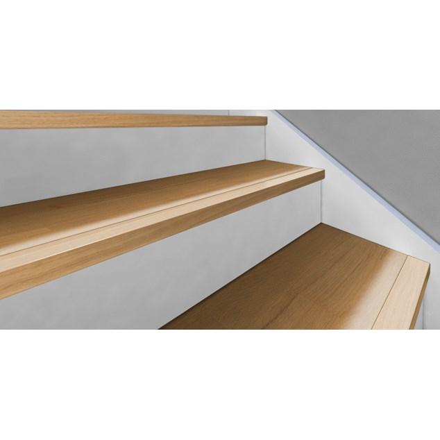 Kährs Massiv Trappeforkant 60x35 mm til Original 15 mm Woodloc - Eg lak