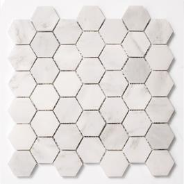 Arredo Carrara Hexagon 48x48mm (300x300)- Poleret Klinker
