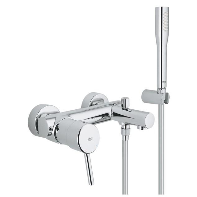 Grohe Bruse- og Badekarsarmatur Concetto 32212 med Håndbruser