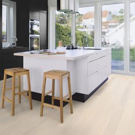 Trægulv Boen Eg Andante Hvid Live Pure Ultramat 14x138x2200mm - Plank
