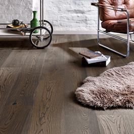 Trægulv Boen EG Brown Jasper Live Natural HW-Olie 14x209x2200mm - Plank