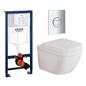 Grohe Væghængt Toilet Euro Ceramic 39328 Komplet Installationspakke