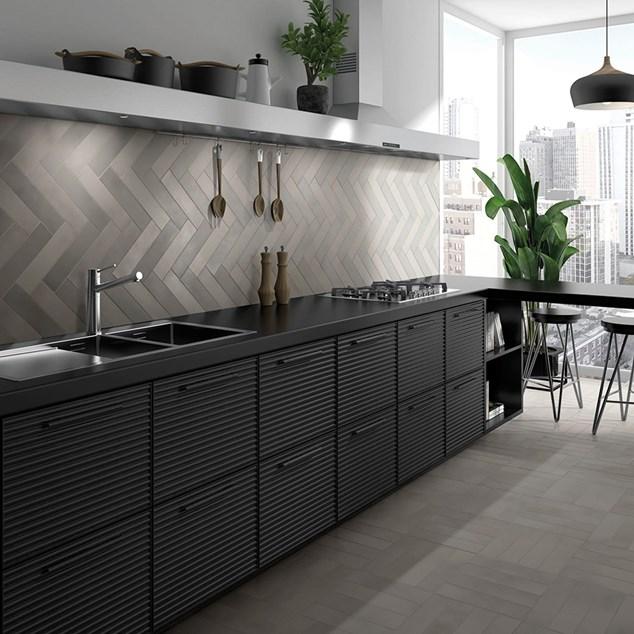 Arredo Klinker Detroit Grey 7x30 cm