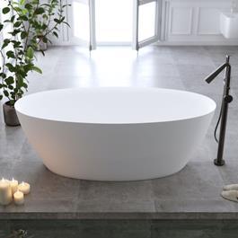 Bathlife Badekar Sund - Mat Hvid 1700 mm