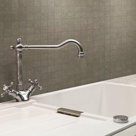 Arredo Klinker Quartz Brown Mosaic 28x28 mm (300x300)