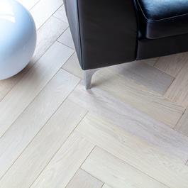 Trægulv Nordic Floor Eg sildeben Grand Cloud Mat Lak