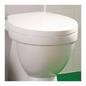 Hafa Kioto Toiletsæde Hvid 1273301