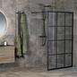 Macro Design Brusevægg Empire Fast Profil Klart Glas