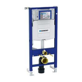 Geberit WC-fikstur Sigma til væghængt toilet- 112 cm