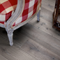 Laminatgulv Pergo Longplank 4V Reclaimed Grey Oak Plank 1-stav - Living Expression