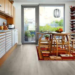 Laminatgulv Pergo Longplank 4V Cottage Grey Oak, Planke 1-Stav - original Excellence