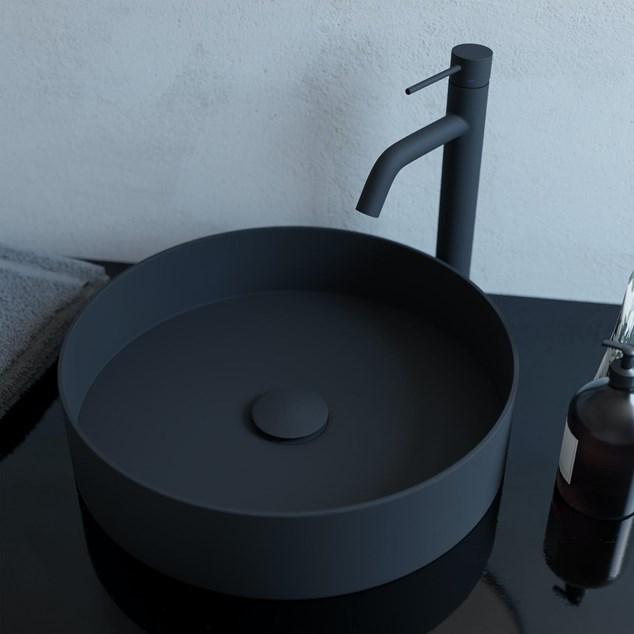 Håndvaskarmatur Primy Steel Voyage High Coal