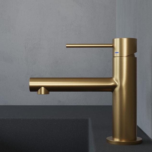 Håndvaskarmatur Primy Steel Vertex Sand