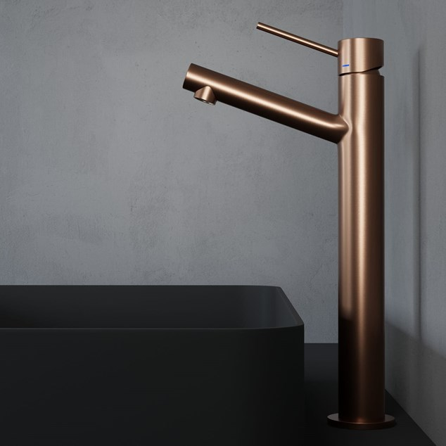 Håndvaskarmatur Primy Steel Vector High Amber