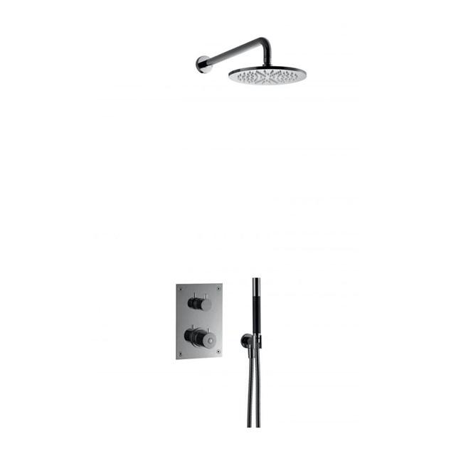 Loftbrusesæt Tapwell BOX7268 Edition 2 Black Chrome