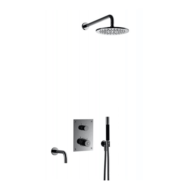 Loftbrusesæt Tapwell BOX7368 Edition 2 indbygning Black Chrome