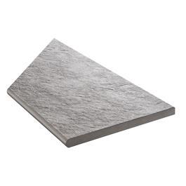 Klinker Bricmate Z Quartzit Grey Pool Inner Corner Right 300x600 mm