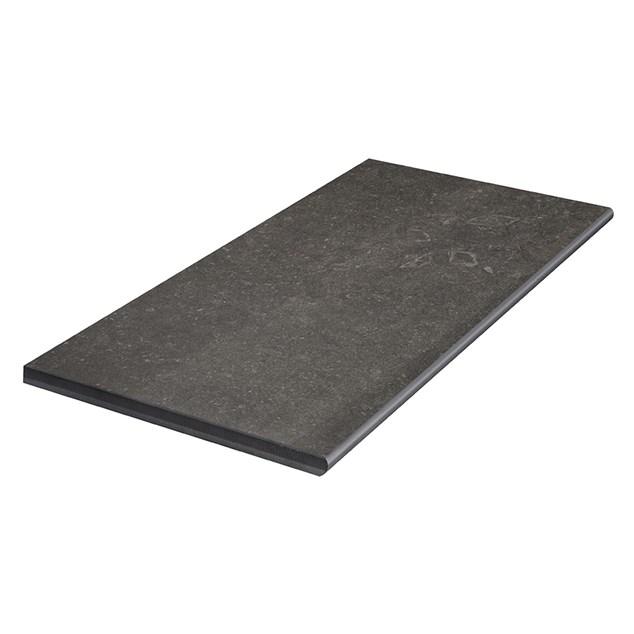 Klinker Bricmate Z Limestone Anthracite Poolside/step 300x600 mm