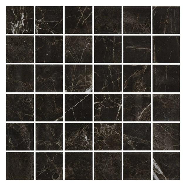 Mosaik BricmateM0505 Noir St. Laurent Honed 50x50 mm