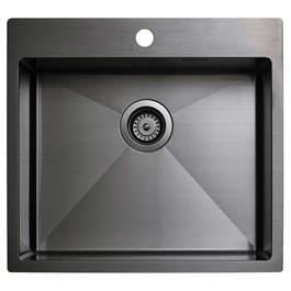Køkkenvask Tapwell 5540 Black Chrome