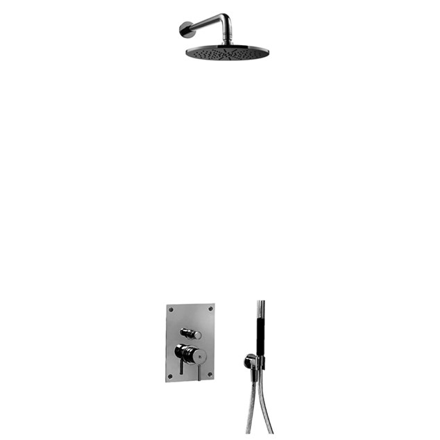 Loftbrusesæt Tapwell BOX7200 Edition 2 Black Chrome