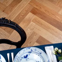 Trægulv Nordic Floor Eg sildeben Grand Country Mat Lak