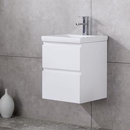 Vaskeskab Bathlife Eufori Small Hvid inkl. vask