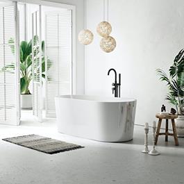 Badekar Bathlife Ideal Fristående Runde