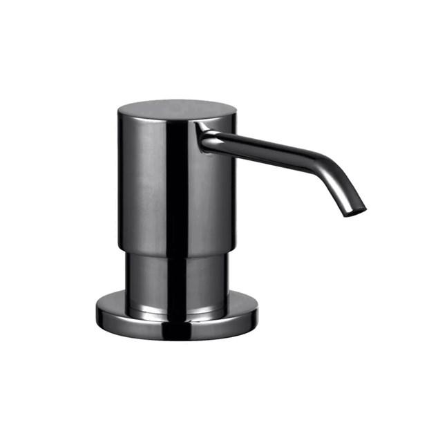 Sæbedipenser Tapwell BI228 til køkkenvask Black Chrome