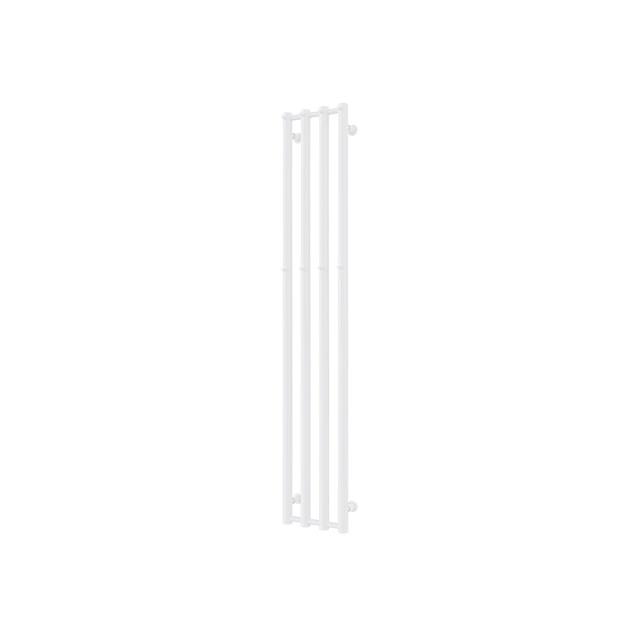 Nordhem Handdukstork Rosendal 1620x260 Vit inkl. Elpatron 300w